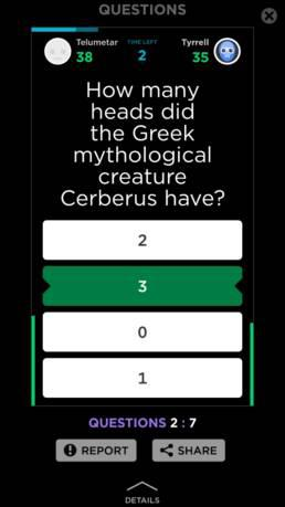 quizup question